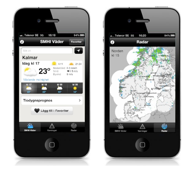www.smhi väder.se