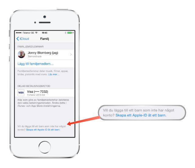 Hur skapar man ett gratis apple id