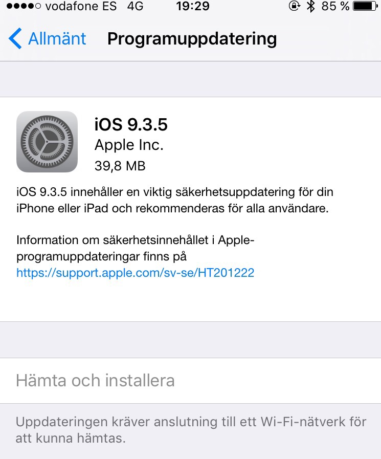 TV APPAR TILL APPLE TV